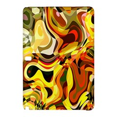 Colourful Abstract Background Design Samsung Galaxy Tab Pro 10 1 Hardshell Case by Simbadda