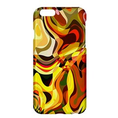 Colourful Abstract Background Design Apple Iphone 6 Plus/6s Plus Hardshell Case by Simbadda