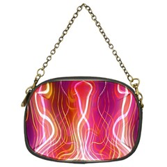 Fire Flames Abstract Background Chain Purses (one Side)  by Simbadda