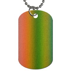 Colorful Stipple Effect Wallpaper Background Dog Tag (two Sides) by Simbadda