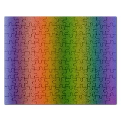 Colorful Stipple Effect Wallpaper Background Rectangular Jigsaw Puzzl by Simbadda