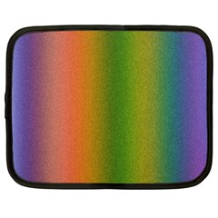 Colorful Stipple Effect Wallpaper Background Netbook Case (large) by Simbadda