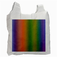 Colorful Stipple Effect Wallpaper Background Recycle Bag (two Side)  by Simbadda
