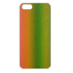 Colorful Stipple Effect Wallpaper Background Apple Iphone 5 Seamless Case (white)