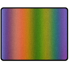 Colorful Stipple Effect Wallpaper Background Double Sided Fleece Blanket (medium)