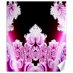Fractal In Pink Lovely Canvas 20  X 24   by Simbadda