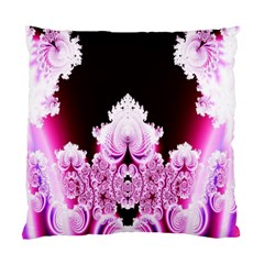 Fractal In Pink Lovely Standard Cushion Case (two Sides) by Simbadda