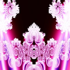 Fractal In Pink Lovely Magic Photo Cubes by Simbadda
