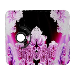 Fractal In Pink Lovely Galaxy S3 (flip/folio) by Simbadda