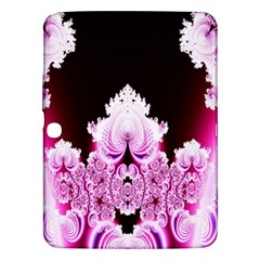 Fractal In Pink Lovely Samsung Galaxy Tab 3 (10 1 ) P5200 Hardshell Case  by Simbadda