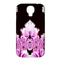 Fractal In Pink Lovely Samsung Galaxy S4 Classic Hardshell Case (pc+silicone) by Simbadda