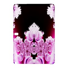 Fractal In Pink Lovely Samsung Galaxy Tab Pro 12 2 Hardshell Case by Simbadda