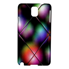 Soft Balls In Color Behind Glass Tile Samsung Galaxy Note 3 N9005 Hardshell Case