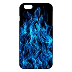 Digitally Created Blue Flames Of Fire Iphone 6 Plus/6s Plus Tpu Case by Simbadda