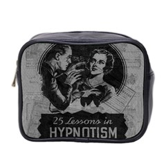 Vintage Hypnotism Mini Toiletries Bag 2 Side by Valentinaart