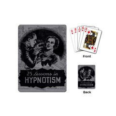 Vintage Hypnotism Playing Cards (mini)  by Valentinaart