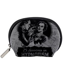 Vintage Hypnotism Accessory Pouches (small)  by Valentinaart