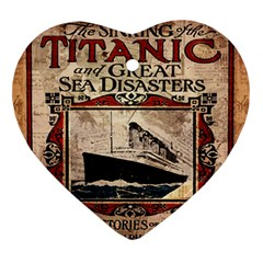 Titanic Ornament (heart) by Valentinaart