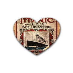 Titanic Rubber Coaster (heart)  by Valentinaart