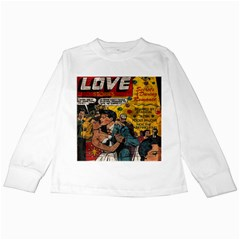 Love Stories Kids Long Sleeve T Shirts