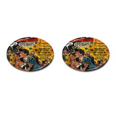 Love Stories Cufflinks (oval)
