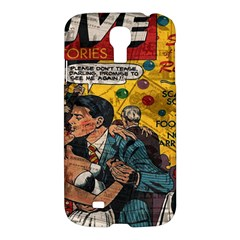 Love Stories Samsung Galaxy S4 I9500/i9505 Hardshell Case by Valentinaart
