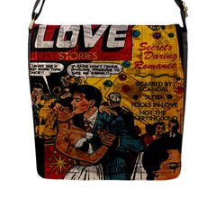 Love Stories Flap Messenger Bag (l)
