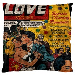Love Stories Standard Flano Cushion Case (two Sides) by Valentinaart