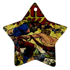 Western Thrillers Star Ornament (two Sides) by Valentinaart