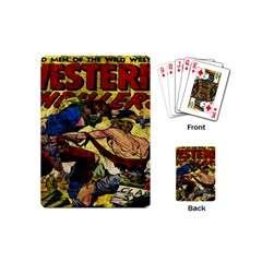 Western Thrillers Playing Cards (mini)  by Valentinaart