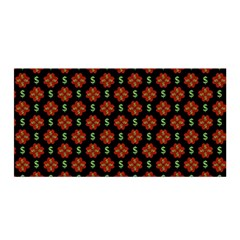 Dollar Sign Graphic Pattern Satin Wrap by dflcprints