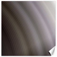 Fractal Background With Grey Ripples Canvas 16  X 16   by Simbadda