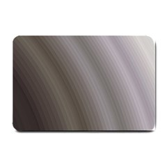 Fractal Background With Grey Ripples Small Doormat  by Simbadda