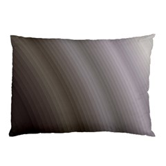 Fractal Background With Grey Ripples Pillow Case