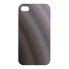 Fractal Background With Grey Ripples Apple Iphone 4/4s Hardshell Case