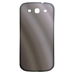 Fractal Background With Grey Ripples Samsung Galaxy S3 S Iii Classic Hardshell Back Case by Simbadda