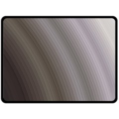 Fractal Background With Grey Ripples Double Sided Fleece Blanket (large)  by Simbadda