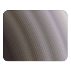 Fractal Background With Grey Ripples Double Sided Flano Blanket (large)  by Simbadda