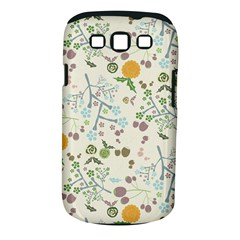Floral Kraft Seamless Pattern Samsung Galaxy S Iii Classic Hardshell Case (pc+silicone)
