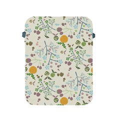 Floral Kraft Seamless Pattern Apple Ipad 2/3/4 Protective Soft Cases by Simbadda
