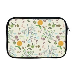 Floral Kraft Seamless Pattern Apple Macbook Pro 17  Zipper Case by Simbadda
