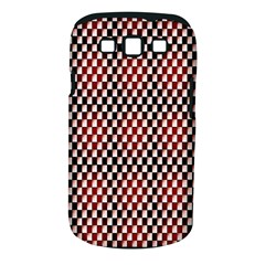 Squares Red Background Samsung Galaxy S Iii Classic Hardshell Case (pc+silicone)