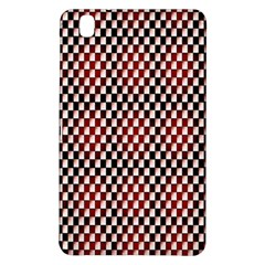 Squares Red Background Samsung Galaxy Tab Pro 8 4 Hardshell Case