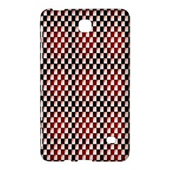 Squares Red Background Samsung Galaxy Tab 4 (7 ) Hardshell Case