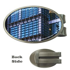 Modern Business Architecture Money Clips (oval)  by Simbadda