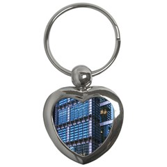 Modern Business Architecture Key Chains (heart)  by Simbadda