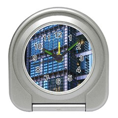 Modern Business Architecture Travel Alarm Clocks by Simbadda