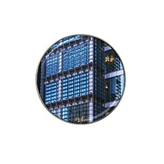 Modern Business Architecture Hat Clip Ball Marker by Simbadda