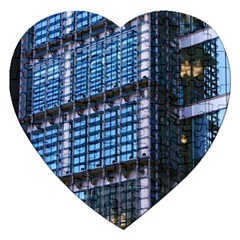 Modern Business Architecture Jigsaw Puzzle (heart)