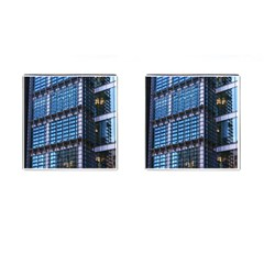 Modern Business Architecture Cufflinks (square) by Simbadda